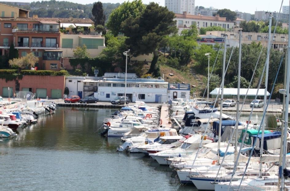Club nautique de Martigues en 2012