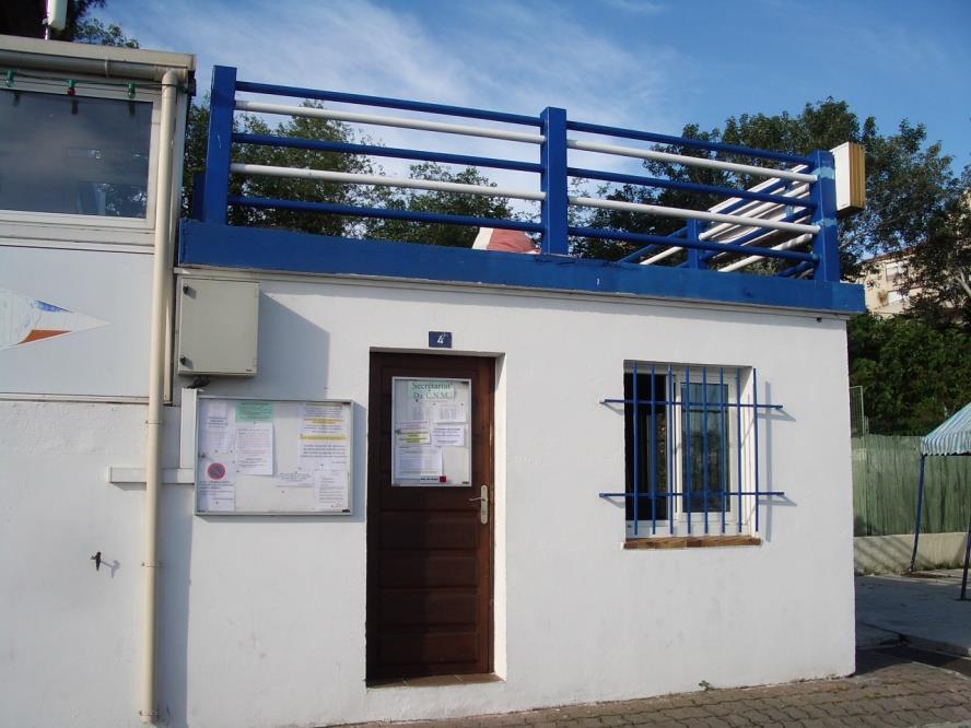 Secretariat du Club Nautique de Martigues
