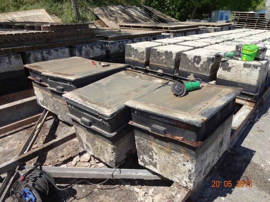 Rénovation des pannes flottantes par les bénévoles du CNM